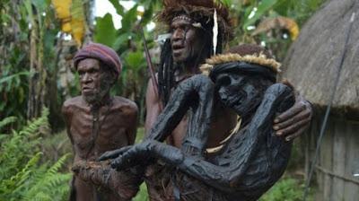 Papua Miliki Metode Unik untuk Mengawetkan Jenazah